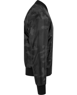 Camo Basic Bomber Jacket dark camo